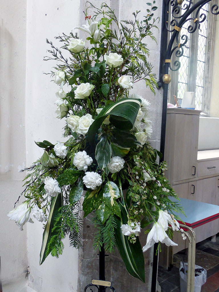 Flowers in Church © T5Cambridge