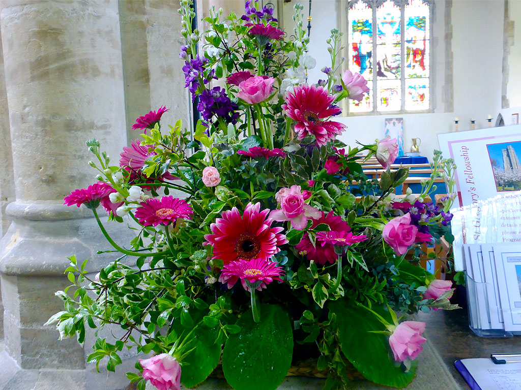 Church Flowers © T5Cambridge