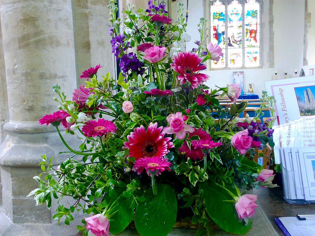 Church Flowers © T5Cambridge